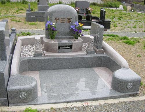 「墓石大賞」に選ばれたオリジナルデザインのお墓 [神戸市立鵯越墓園]