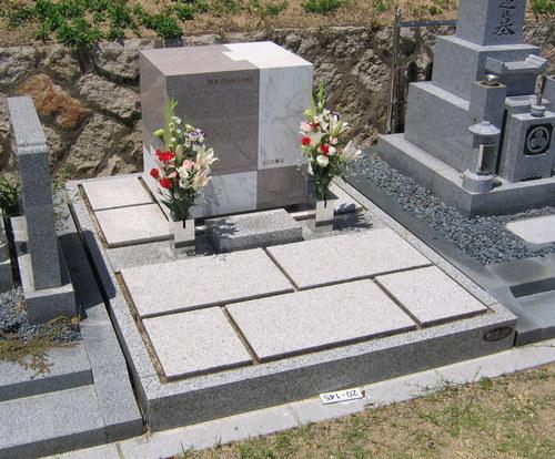 一級建築士が設計したオリジナルデザイン墓石 [芦屋市霊園]