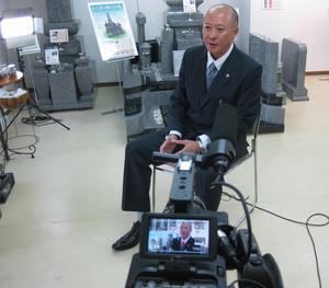 2014年(平成26年)5月7日 「KENJA GLOBAL」取材撮影