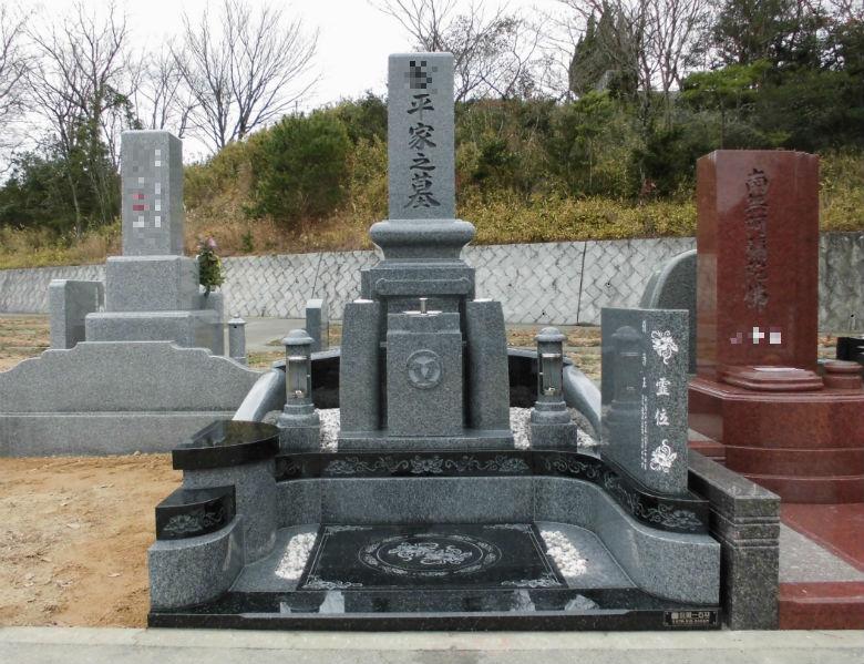 こだわりの和型デザイン墓石【神戸市立鵯越墓園】