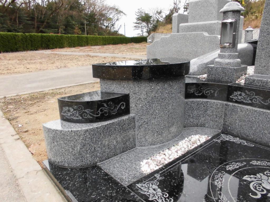 オリジナルデザインのお墓の外柵