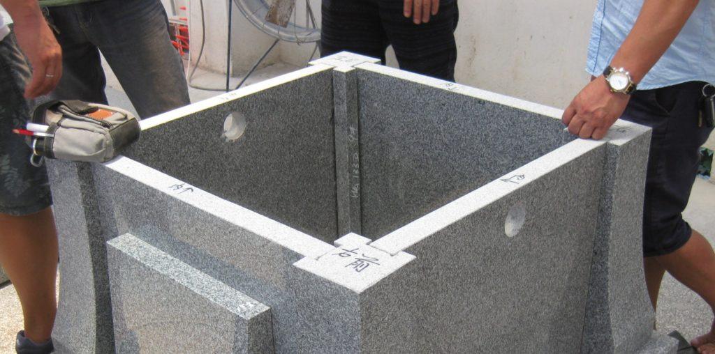ひどい加工の墓石の事例紹介