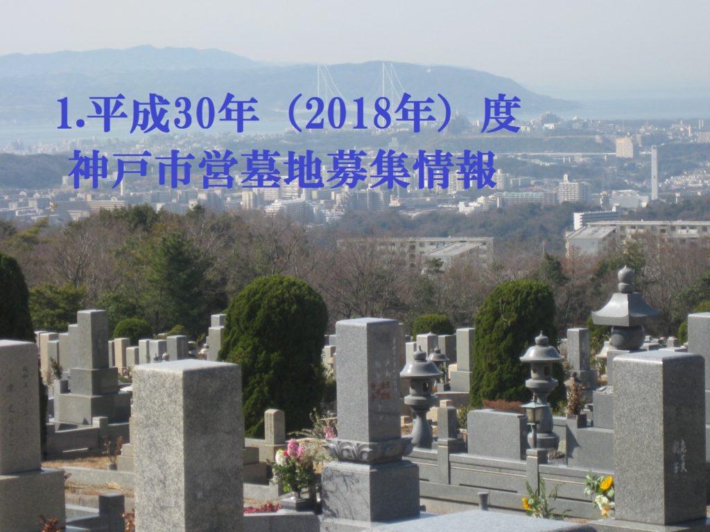 1.平成30年(2018年)度 神戸市営墓地募集情報