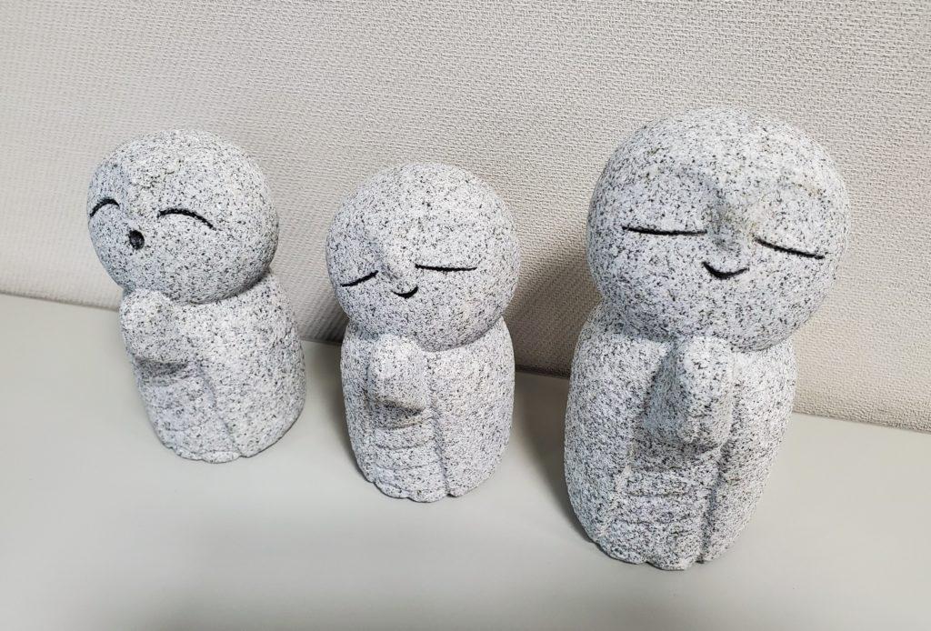 石神彫刻工房様作の「石んこ地蔵」