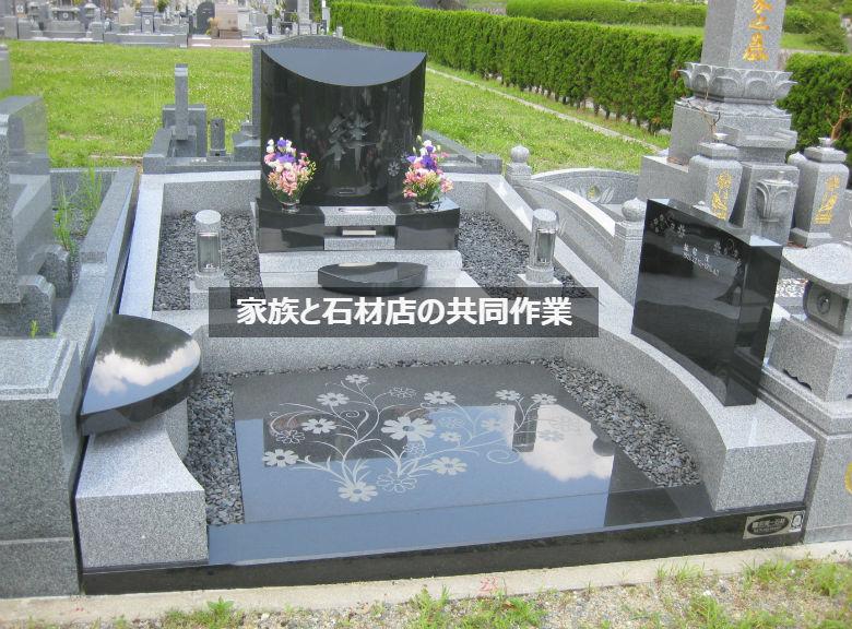 満足できるお墓づくりはお施主様と石材店の共同作業