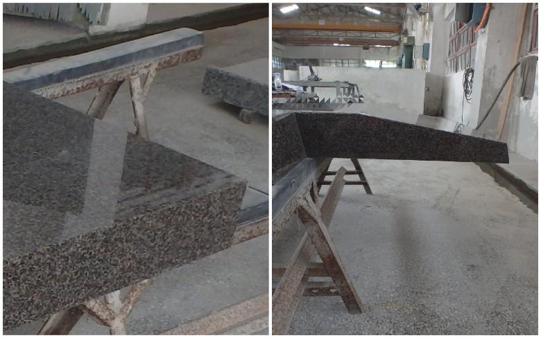 中国でのスウェーデンマホガニー部材の加工